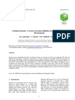 Paper_Calcium Stearate as Green Corrosion Inhibitor