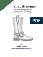 Bootstrap Grammar