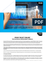 PRISM Select Online - Why Use It