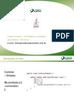 Aula 2 Java - Básico