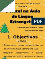 O Natal na Aula de Língua Estrangeira