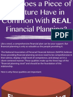 Infographic - The Three Elements of REAL Financial Planning