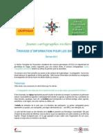 Trousse d'Information Pour Les Enseignants - Concours Cartographique 2013