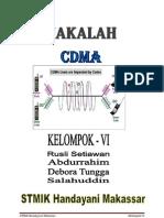 MAKALAH KELOMPOK 6 CDMA