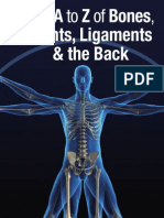 6082788 the a to Z of Bones Joints and Ligaments and the Back