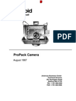 polaroid propack repair manual