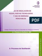 Desalacion 6 Procesos de Destilacion Sevilla