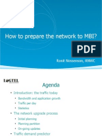 How to prepare the network to MBI?
