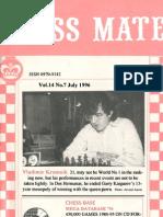 Chess Mate - July 1996