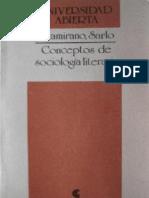 Altamirano & Sarlo - Conceptos de Sociologia Literaria