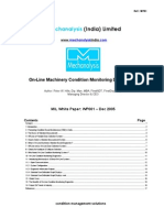 MIL Tech Paper WP01 - On-Line Machinery Condition Monitoring Diagnostics