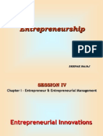 1.4 Entrepreneurial Innovation