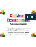 childrens programming case study