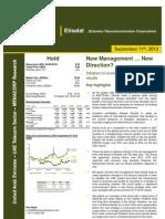 Etisalat - MENACORP Report 11092012