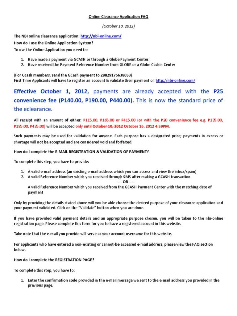 nbi | Email | Qr Code