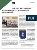 Scioglimento Dell'Arma Dei Carabinieri