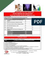 Curso Avanzado de Inteligencia de Negocios 2012