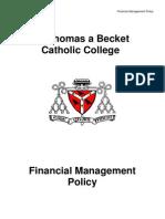 Policies - Financial Management