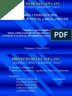 Posición de Evangélicos ante Proyecto de Ley AVP