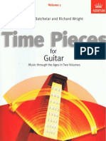 Time Pieces for guitar Vol. 1