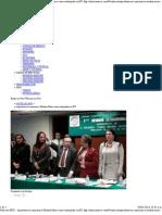 08-01-13 Aprueban en comisión a Medina Mora como embajador en EU