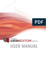 Namo WebEditor 2006(manual)