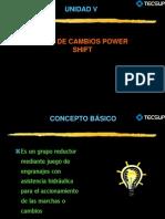 Sistema de Transmision POWER SHIFT