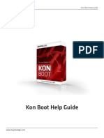 Kon Boot Help
