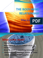 The Mind and Body-mind Relationship
