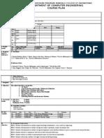 course plan DSGT