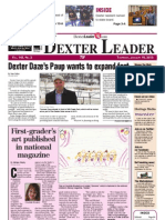 The Dexter Leader Front Page January 10, 2013