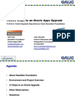 oracle application upgrade
