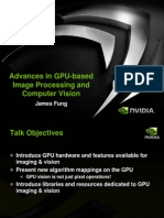 Advances in GPU Based Image Processing