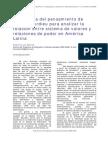 A propósito de Pierre Bourdieu y relaciones de poder