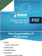 Production Analysis 2