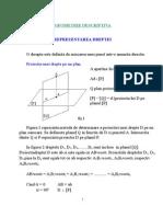 Geometrie Descriptiva CURS 4