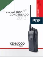 Catálogo KENWOOD 2013