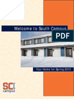 Welcome to South Campus - Spring 2013