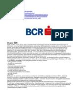 Proiect SIE BCR