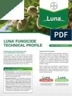 Luna Almond Fungicide - 2012 Product Guide