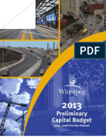 2013-2018 Preliminary Capital Budget