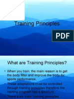 Performer From Actually Training Progression Takes Place Over