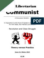The Libertarian Communist No.21 Winter 2013