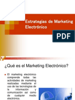 Estrategias de Marketing Electronico