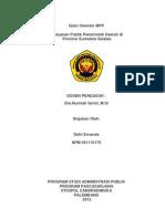 1. Defri Ernanda Makalah Pelayanan Publik Pemerintah Daerah