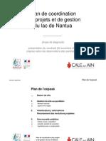 Plan de coordination  des projets et de gestion  du lac de Nantua