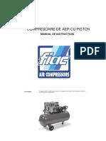 Manual compresoare cu piston FIAC