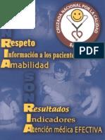CRUZADA NACIONAL POR LA CALIDAD DE LOS SERVICIOS DE SALUD