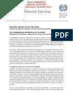 [Los trabajadores domésticos en el mundo Estadísticas mundiales y regionales, y alcance de la protección jurídica