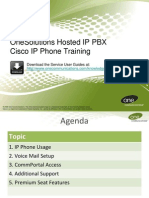 Cisco Hosted_IP_PBX_Product_Training